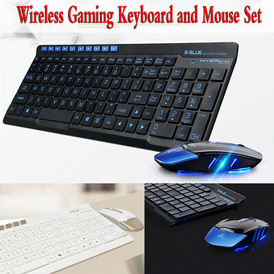 2.4GWireless Professional Gaming keyboard and Mouse Combo Set Multimedia For PC