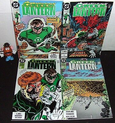 Green Lantern V3 Dc '90 #1 2 3 4 Return: Hal Jordan John Stewart Guy Gardner Nm-