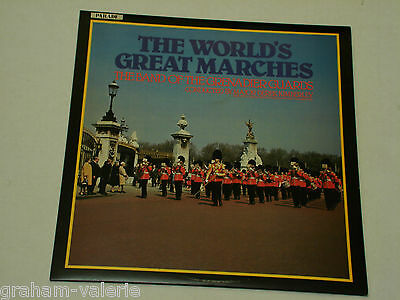 The World's Great Marches The Band Of The Grenadier Guards  vinyl LP Album