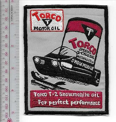 Snowmobile Oil & Lubricants Torco T-2 Special Snowmobile Oil Promo Patch Ontario