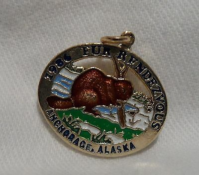 1986 Anchorage Fur Rondy Rendezvous Collector Charm Beaver