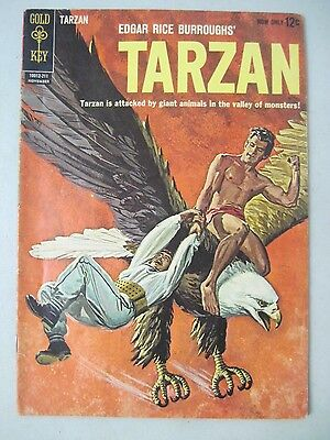 "Tarzan Of The Apes #132 November 1962 Gold Key Comics ""the Valley Of Monsters"""