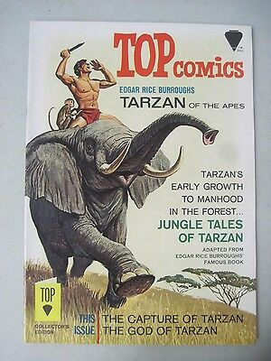 Top Comics Edgar Rice Burroughs Tarzan Of The Apes #1 Elephant Cover 1967