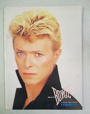 David Bowie Serious Moonlight Tour 1983 Tour Book Program