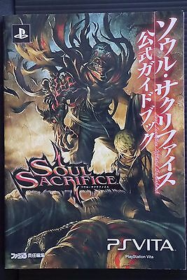 JAPAN Soul Sacrifice Official Guide Book (Not With Product Code)