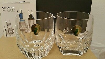 Waterford Crystal Mixology Tumbler Clear, Set of 2 Brand New