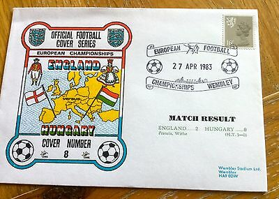 Football First Day Cover Football European Championships England V Hungary
