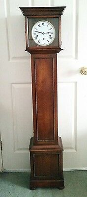 Victorian long case Granddaughter Clock
