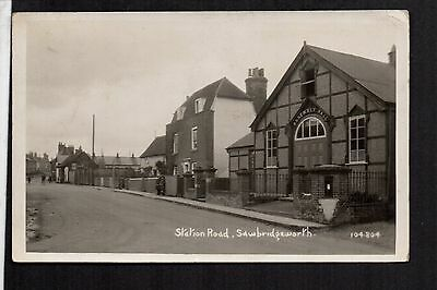 Sawbridgeworth - Assembly Hall, Station Road - real photographic postcard