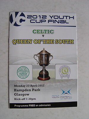 Celtic v Queen of the South 2012 Scottish Youth Cup Final