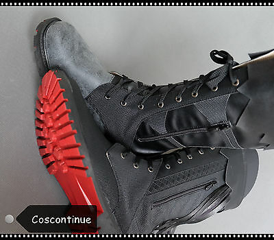 Final Fantasy XV 15 Noctis Lucis Caelum Boots Shoes Custom Made Cosplay