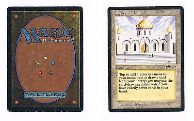 MTG Library of Alexandria Arabian Nights Magic ENG Original EXCELLENT Condition
