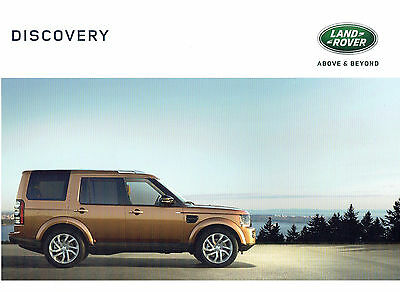 Land Rover Discovery 4 Sales Brochure - 2015 Landmark/Graphite/Commercial 66pgs