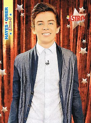 """HAYES GRIER - NICE SMILE - 11"""" x 8"""" MAGAZINE PINUP - POSTER"""