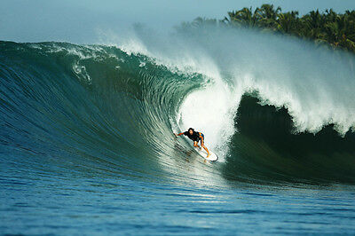 """Dave Rastovich 8x12"""" Photo from Nias by Pete Frieden"""