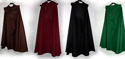 lightweight Hooded cape Cotton Medieval Coat cloak cape Gothic Summer