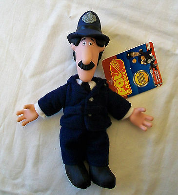 "POSTMAN PAT Collectable 8"" Plush Figure of PC SELBY with Hard Plastic Head/Hands"