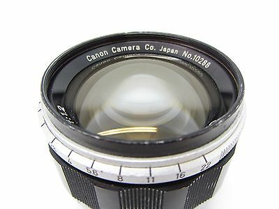 Canon 50mm f1.2 LTM Lens. Leica M39 Fitting For Spares Only