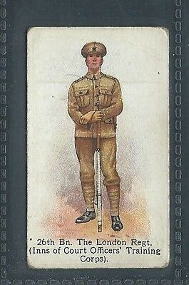 Godfrey Phillips Territorial Series No 69 26Th Bn The London Regt Inns Of Court
