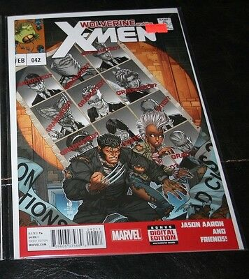 Wolverine and the X-Men (2011) 42 Uncanny 141 cover swipe! last issue