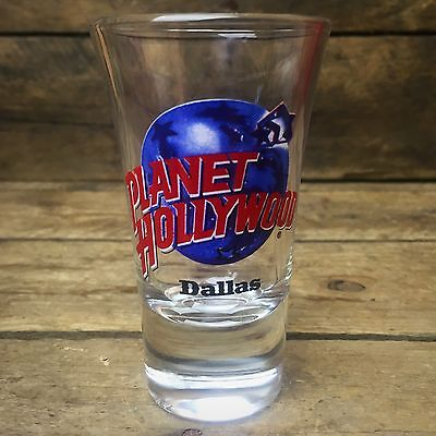 Planet Hollywood Dallas Flared Shot Glass