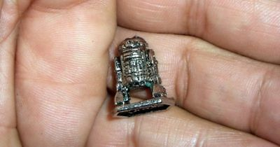 1982 Original Rare *star Wars* R2-D2 Pewter Figure New Condition!!free S&h