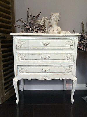 Queen Anne Kommode Sideboard Schubladenkommode Shabby Chic