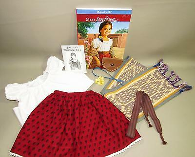Pleasant Company American Girl Josefina Meet Outfit Skirt Shirt Rebozo Book +++