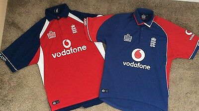 2 x ENGLAND One-Day International - Vodafone - Adult - *Free UK Post*