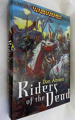 Warhammer  Riders of Dead hardcover  black library book  empire