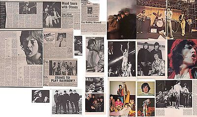 ROLLING STONES : CUTTINGS COLLECTION -1970s- interviews etc.