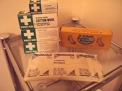 Vintage Dr Scholl's Bunion Reducer + Other More Modern Boxed Bandages