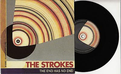"""THE STROKES The End Has No End 2003 UK vinyl 7"""" NEW/UNPLAYED"""