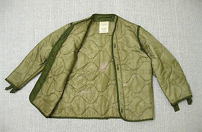 US Army VIETNAM LINER M65 COLD WEATHER FIELD JACKET SMALL 1970