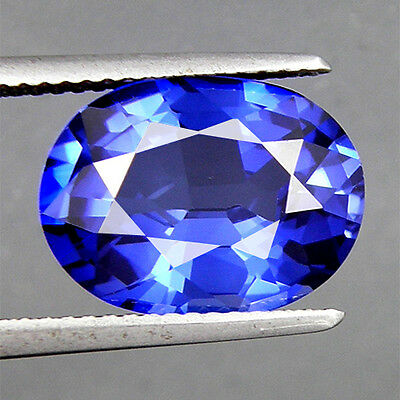 7.11 CT. TWINKLE OVAL FACET FLAME-FUSION ROYAL BLUE SAPPHIRE 13.4 x 10.2 MM