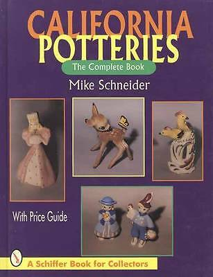 1930s-1960s California Art Pottery Collector Guide incl Kay Finch, DeLee, Others