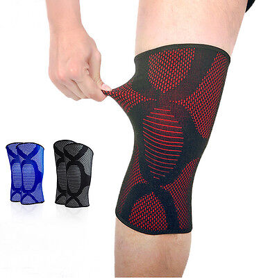 Knee Compression Sleeve Support Running Gym Sports Joint Pain Relief