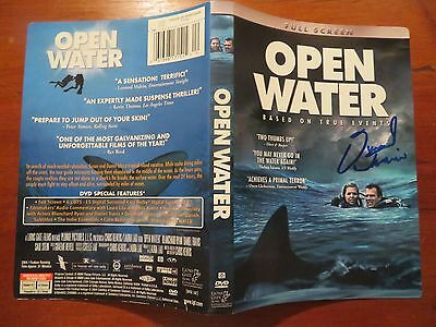 Signed Autographed DVD Cover Open Water - Daniel Travis