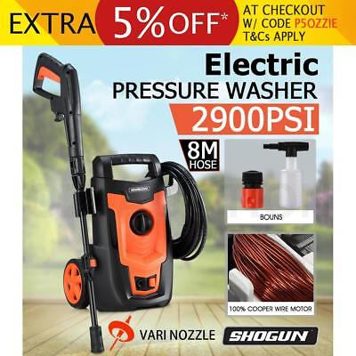 Electric High Pressure Washer Water Pump Cleaner Sprayer with 8-Meter Hose