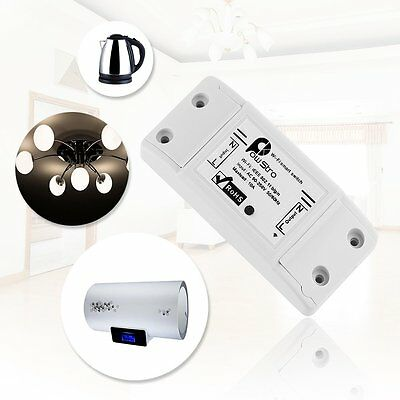 Sonoff Smart Remote Control Wireless Switch Modified ABS Shell Socket Home Use