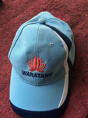 CAP NSW WARATAHS SUPER RUGBY SUPPORTERS Member 2013 Embroidered logo's near new