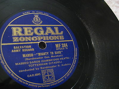 Citadel Massed Band: Mighty To Save/ Deliverance ( Cornet Duet ) - 1954 UK