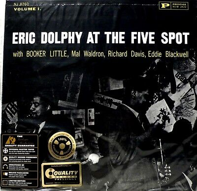 Eric Dolphy - Analogue Productions - Apj-8260 -  At The Five Spot - 200G