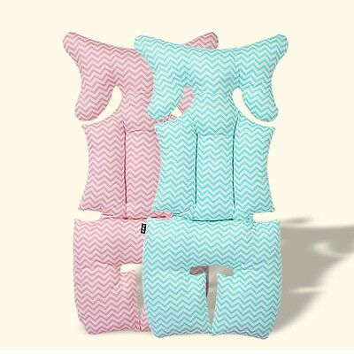 Baby Kid Infant Soft Stroller Car Set Liner Pad Cover Head Rest Cushion Mat New