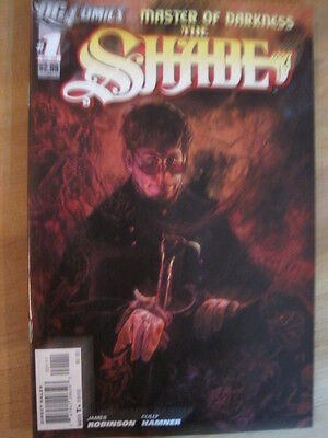The SHADE  # 1. By JAMES ROBINSON. 1st PRINTING. Post THE NEW 52 !  DC. 2011