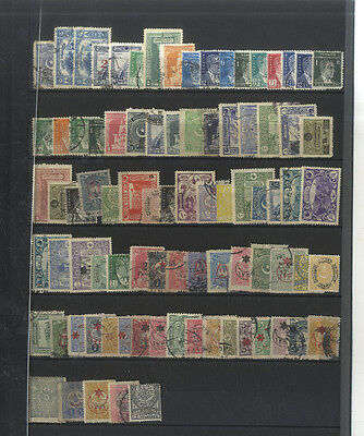 85 Timbres  Turquie  Europe