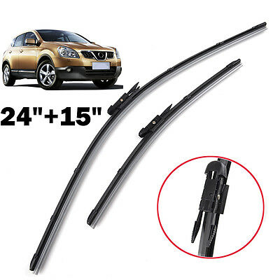 Windscreen Wiper Blades Front Window Windshield Fit For 06-13 Nissan Qashqai J10