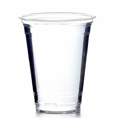 Clear Cups Trinkbecher PET 0,4 l glasklar 50 Becher 16oz Plastikbecher