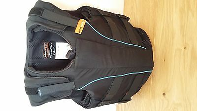 Airowear Outlyne black horse riding body protector Y4 long age 9-12 years