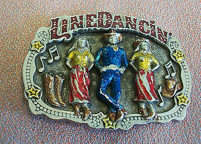 linedancin belt buckle